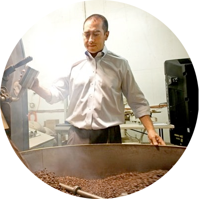 About italian traditional coffee roaster