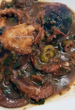 Octopus in Italian Sauce
