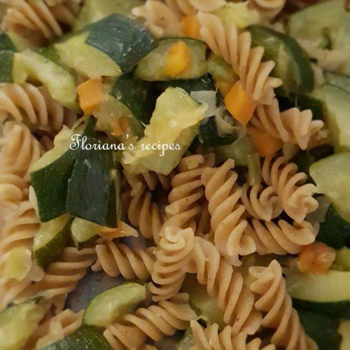 Courgette Whole Wheat Pasta