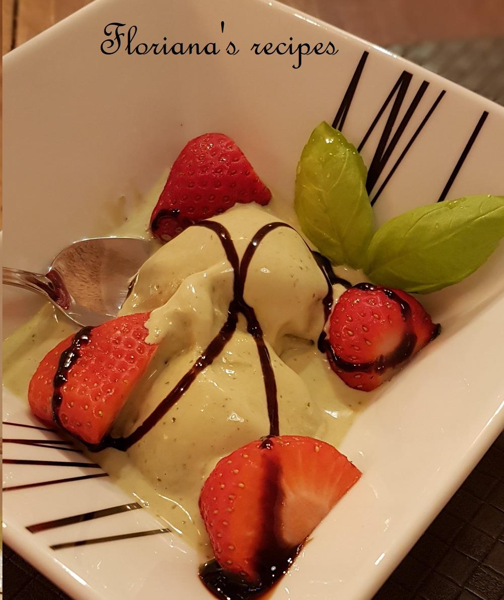 Basil Gelato Ice Cream